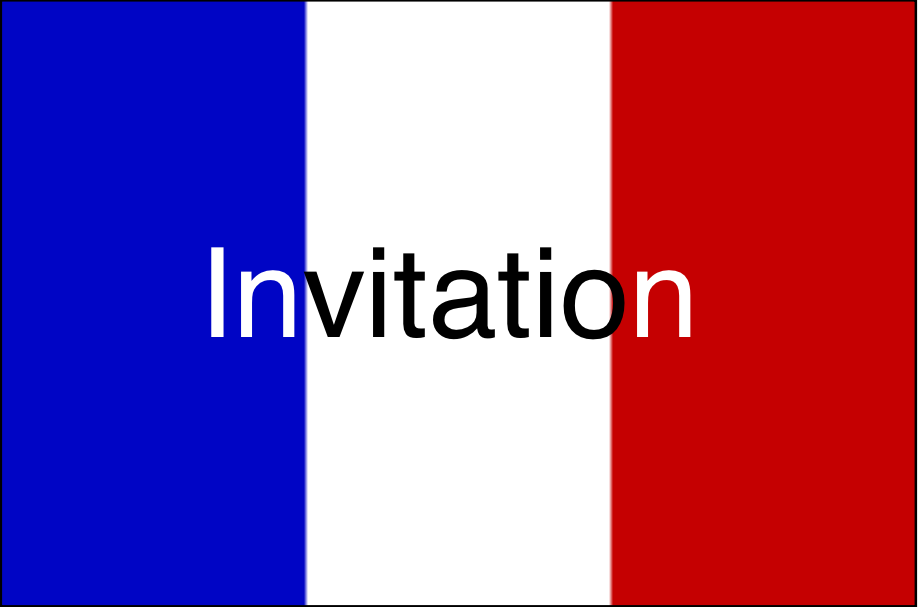 Fr vlag invitation